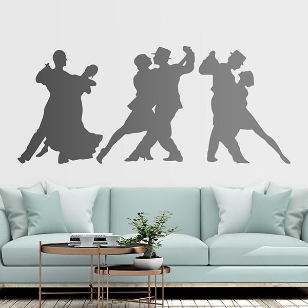 Stickers muraux: Danse en couple