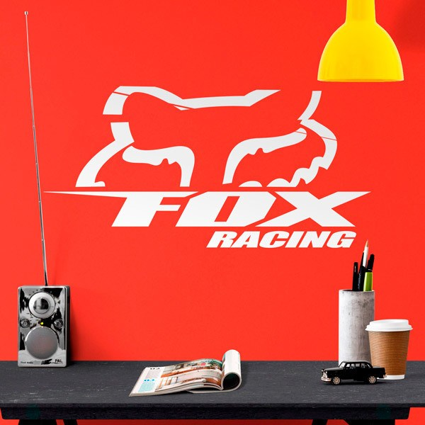 Stickers muraux: Fox Racing 3.0