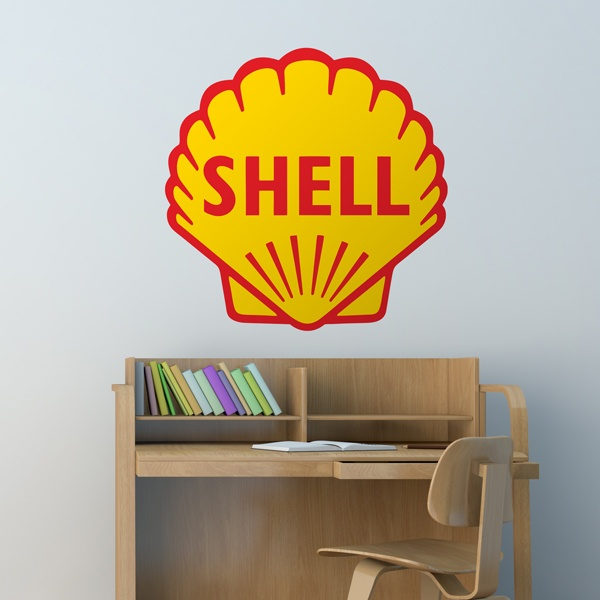Stickers muraux: Shell Bigger