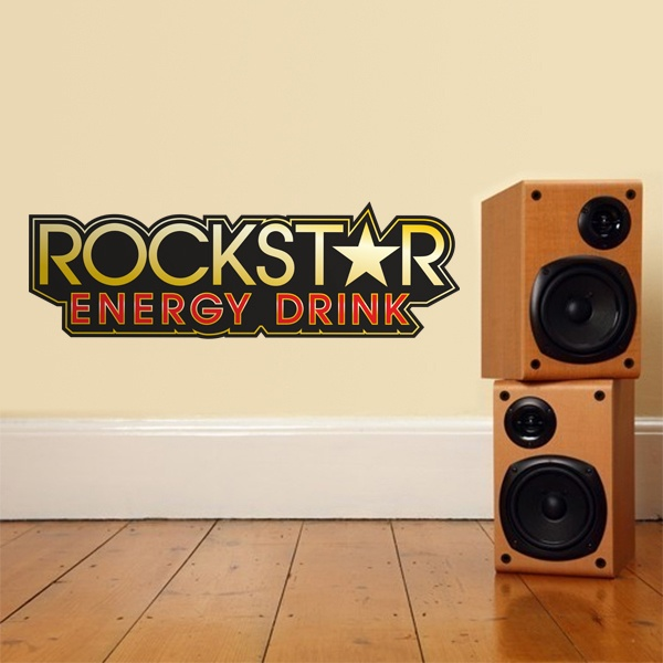 Stickers muraux: Rockstar Energy Drink Bigger