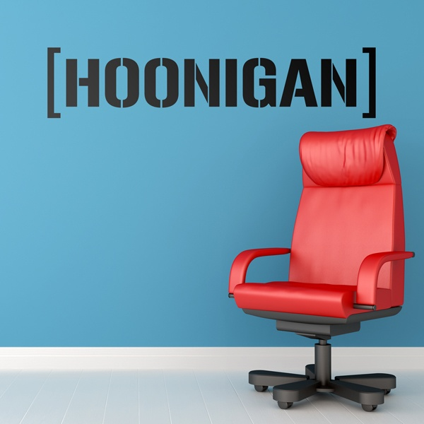 Stickers muraux: Hoonigan Bigger