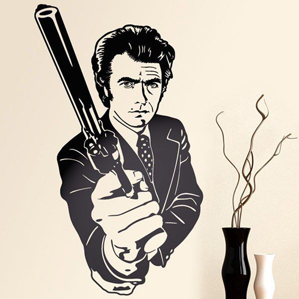 Stickers muraux: Dirty Harry