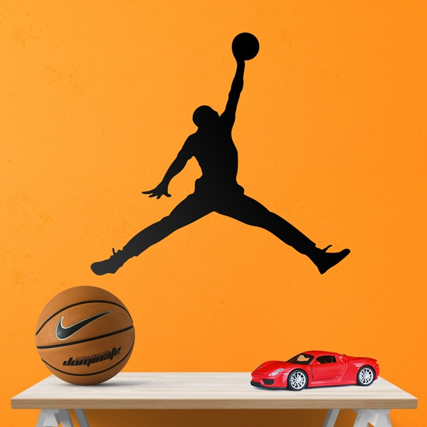 Stickers muraux: Air Jordan Bigger