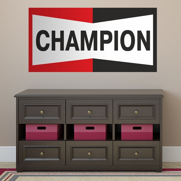 Stickers muraux: Champion Bigger