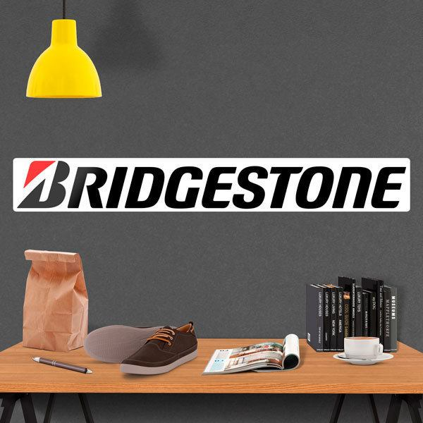 Stickers muraux: Pneus Bridgestone