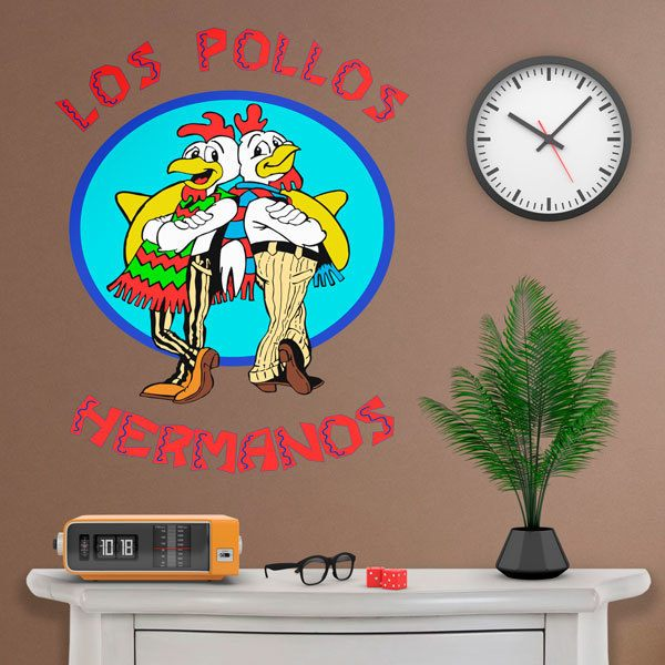 Stickers muraux: Les Frère Poulets Breaking bad