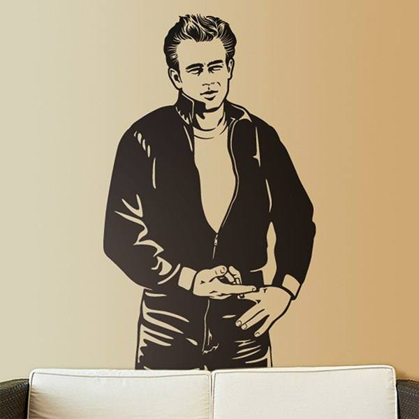 Stickers muraux: James Dean Bomber