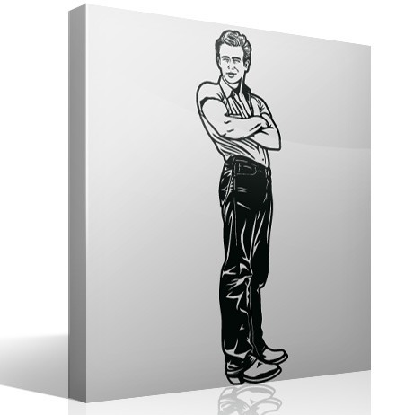 Stickers muraux: James Dean Giant