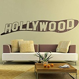Stickers muraux: Signe Hollywood 2