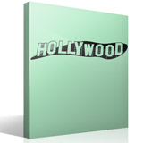 Stickers muraux: Signe Hollywood 3