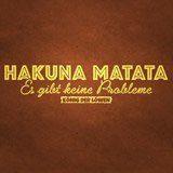 Stickers muraux: Hakuna Matata en allemand 3
