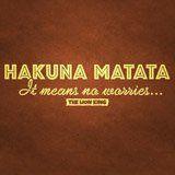 Stickers muraux: Hakuna Matata en anglais 3