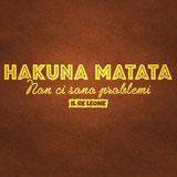 Stickers muraux: Hakuna Matata en italien 3