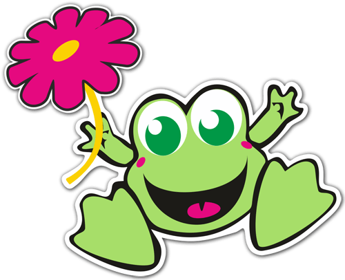 Frog 1 - Film transparent autocollant ...