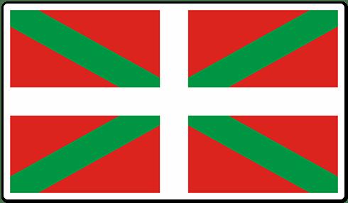 Autocollants: Drapeau Pays Basque