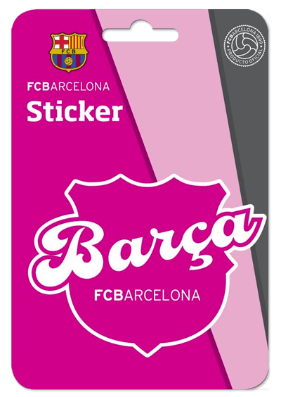 Autocollants: Futbol Club Barcelona Rose