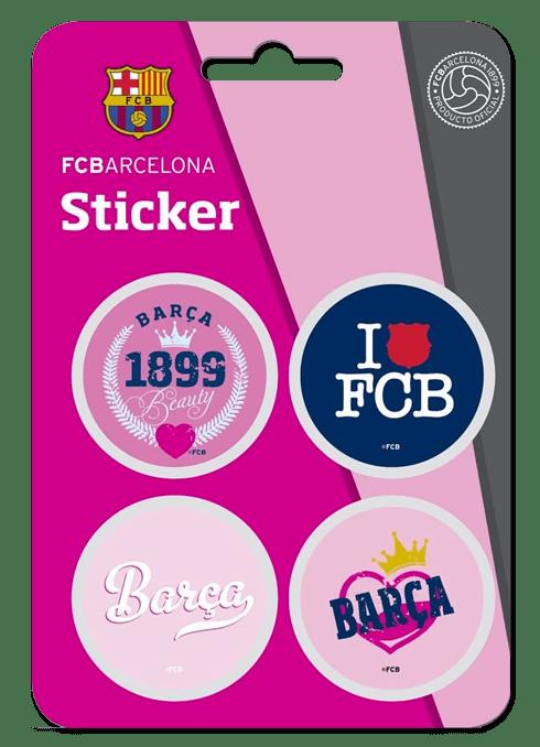 Autocollants: Kit FC Barcelona 4 Stickers