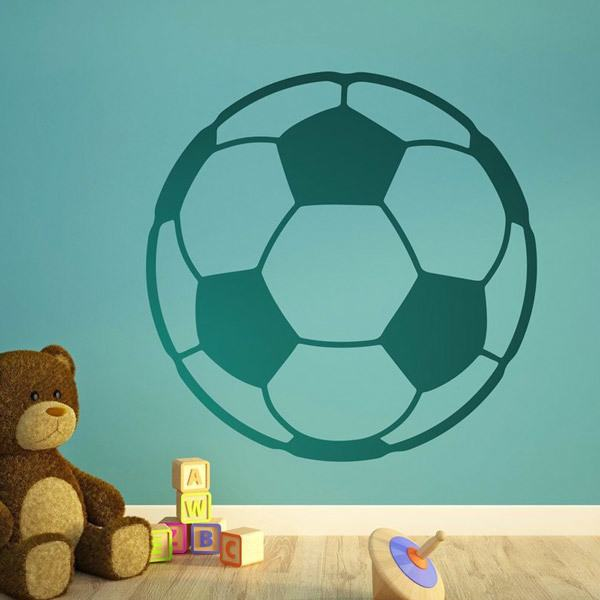 Stickers muraux: Ballon de football