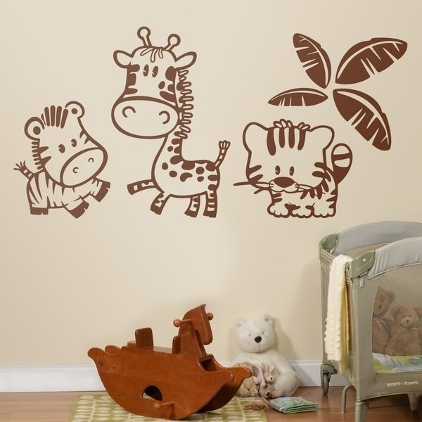 Stickers pour enfants: Animaux de la jungle