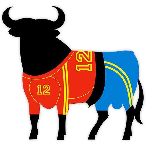 Autocollants: Taureau Osborne équipe de football espagnole