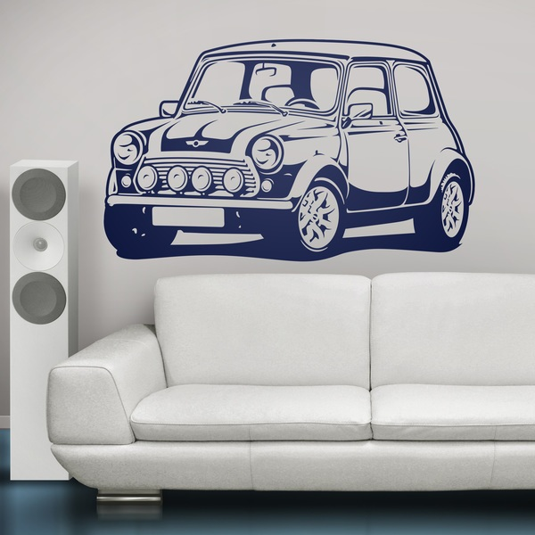Stickers muraux: Mini Cooper