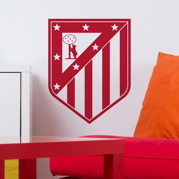 Stickers muraux: Écusson Atlético de Madrid
