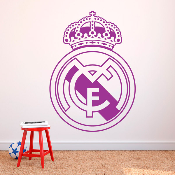 Stickers muraux: Écusson Real Madrid