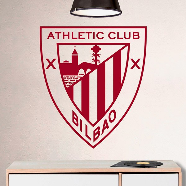 Stickers muraux: Écusson Athletic Club de Bilbao