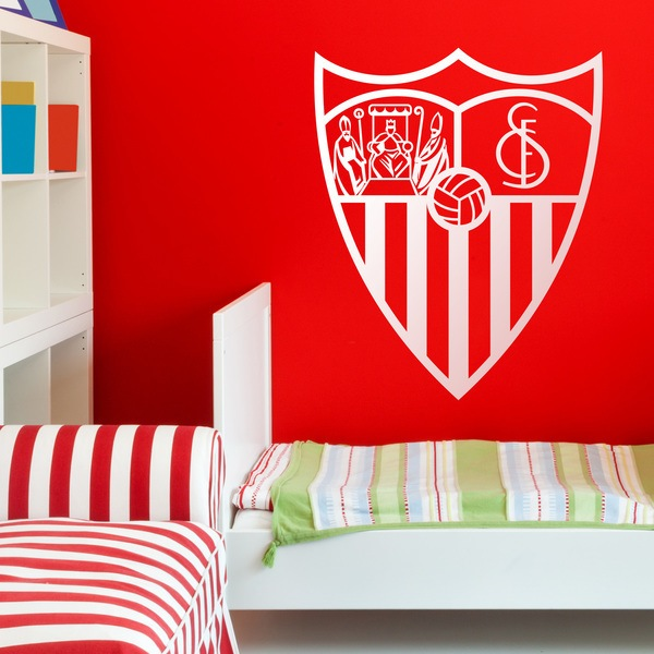 Stickers muraux: Écusson Sevilla Fútbol Club