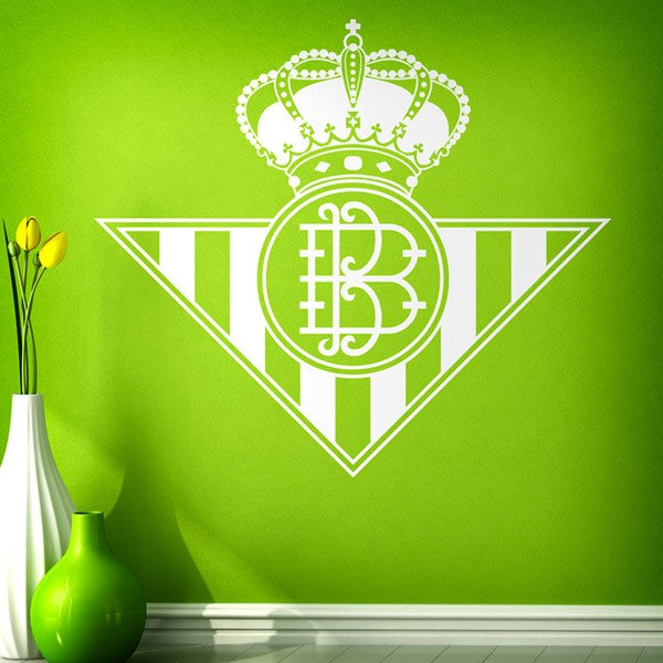 Stickers muraux: Écusson Real Betis Balompié
