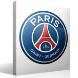 Stickers muraux: Écusson Paris Saint-Germain PSG couleur  3