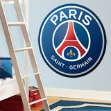 Stickers muraux: Écusson Paris Saint-Germain PSG couleur  4