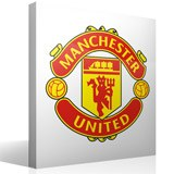 Stickers muraux: Écusson Manchester United  couleur  3