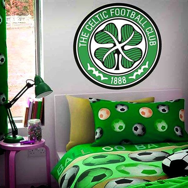 Stickers muraux: Écusson Celtic FC couleur