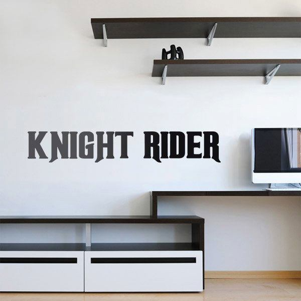 Stickers muraux: Knight Rider