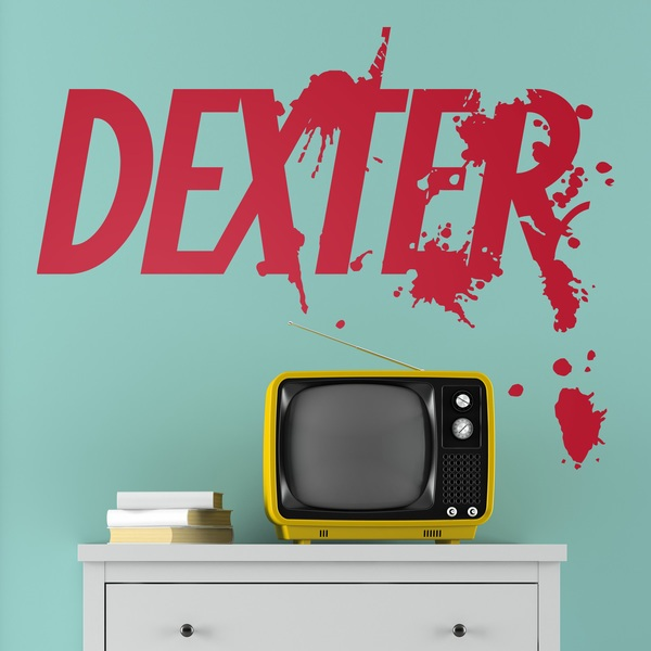 Stickers muraux: Dexter