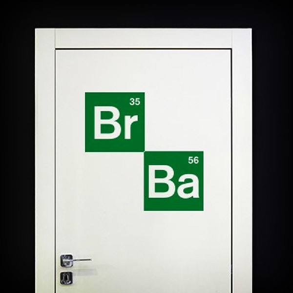 Stickers muraux: Logo Breaking Bad 2