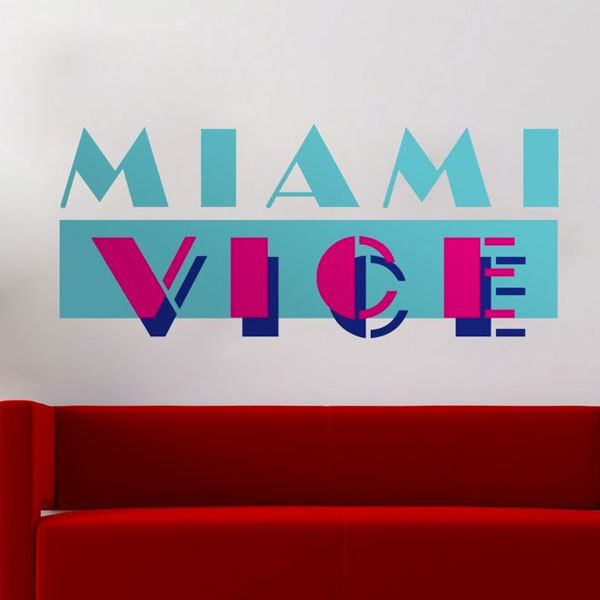Stickers muraux: Miami Vice