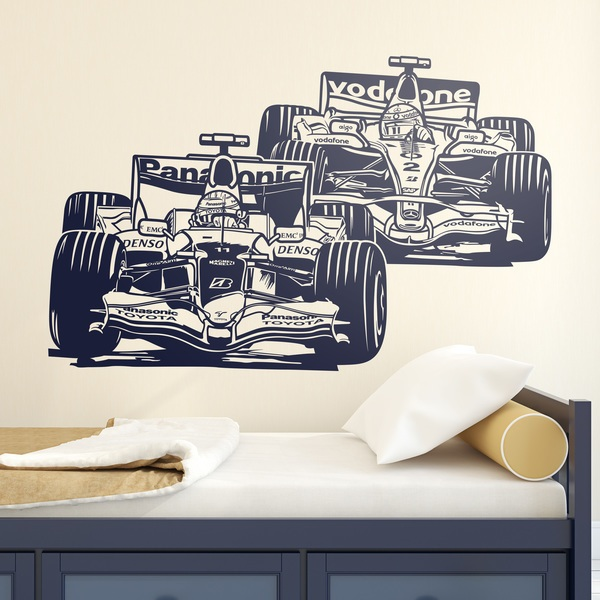 Stickers muraux: Formule 1 Grand Prix