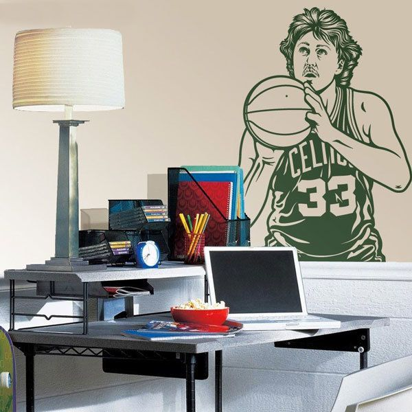 Stickers muraux: Larry Bird 1