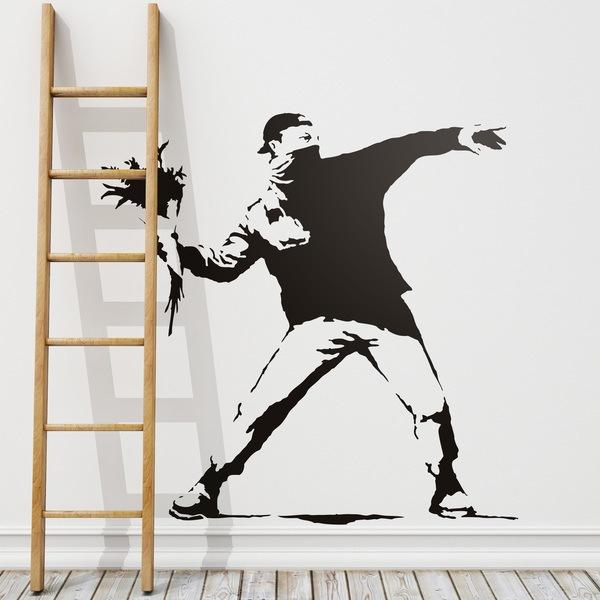 Stickers Muraux Banksy
