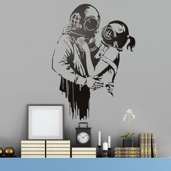 Stickers muraux: Think Tank par Banksy