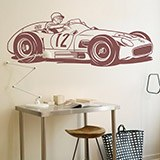 Stickers muraux: Mercedes-Benz W196 2