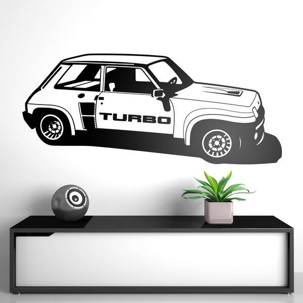 Stickers muraux: Renault 5 Turbo Cup