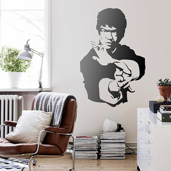 Stickers muraux: Bruce Lee