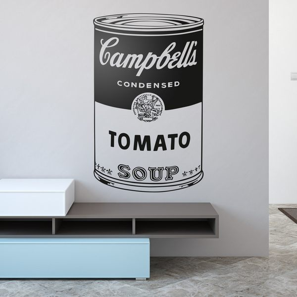 Stickers muraux: Andy Warhol Campbell's Soup Cans