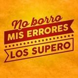 Stickers muraux: No borro mis errores, los supero 3