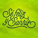 Stickers muraux: Sé feliz y sonríe 3