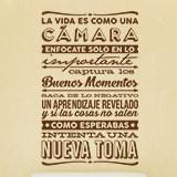 Stickers muraux: La vida es como una cámara 2