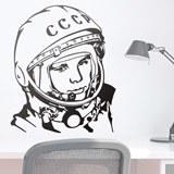 Stickers muraux: Astronaute Yuri Gagarin 2